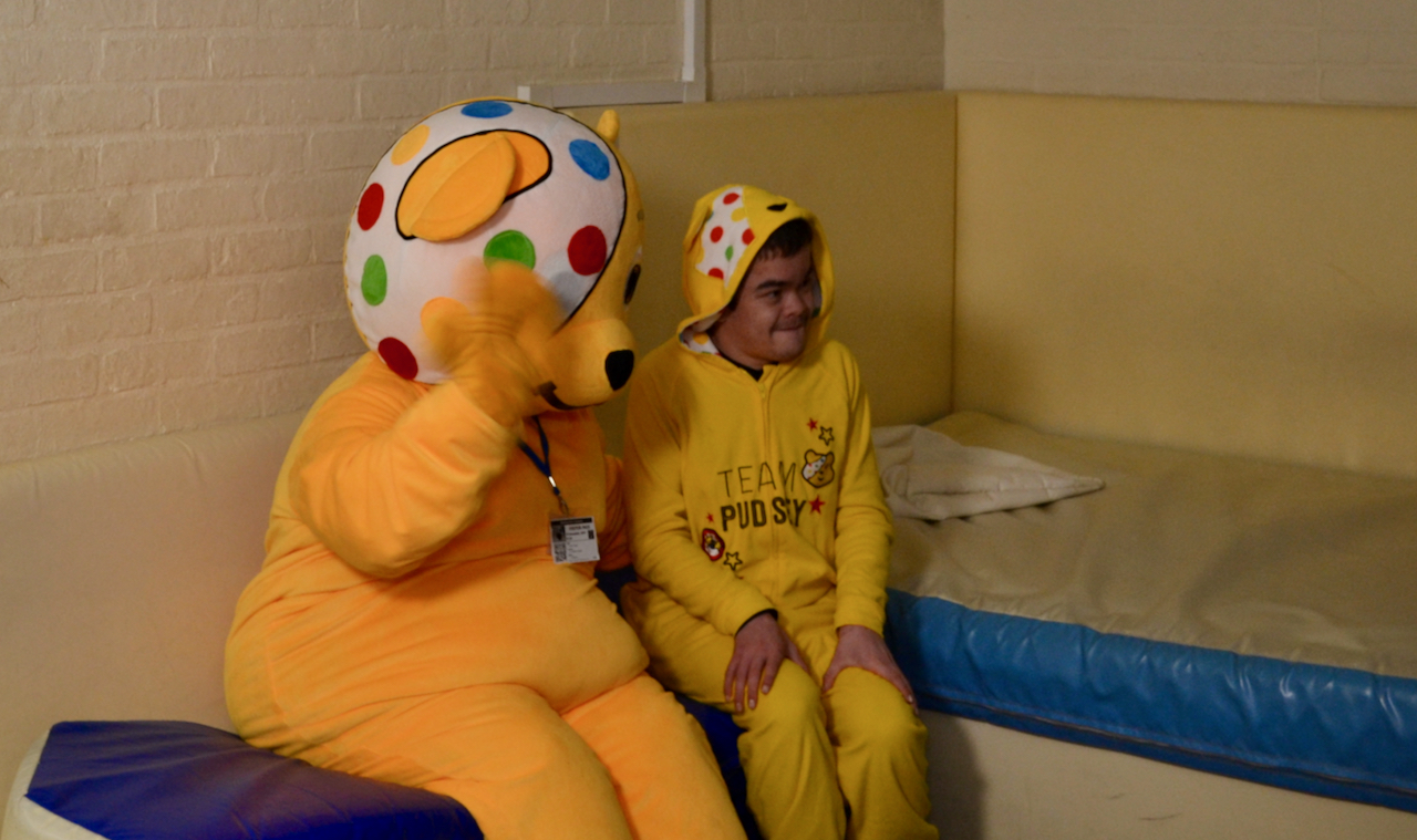 Pudsey and student