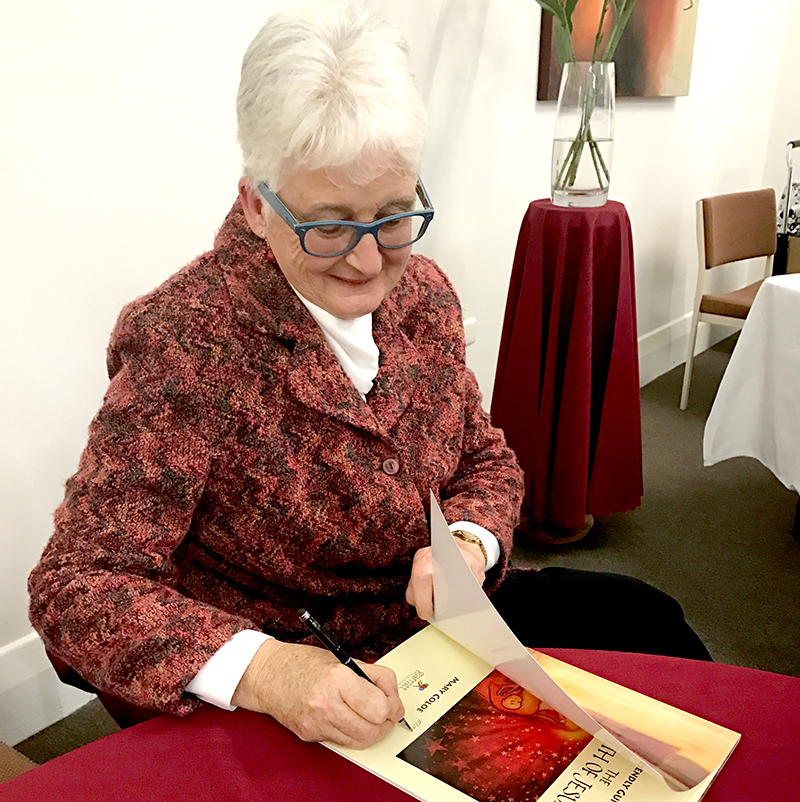 Mary Coloe at the Book Launch