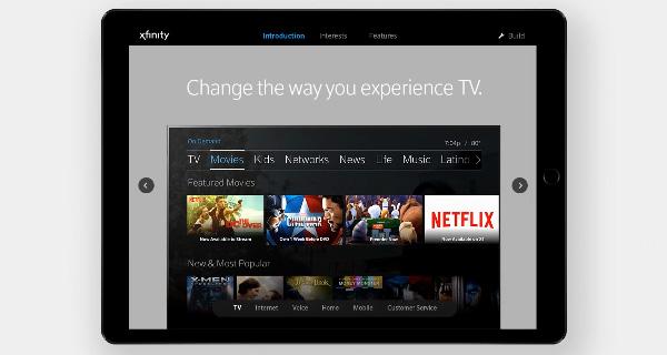 Xfinity - Sales App Overview
