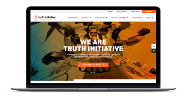 A content-focused website rebrand for a leading public health organization