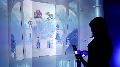 Virtual Storefront -- Disney Prototype