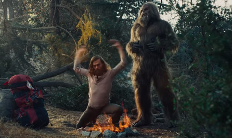 Jack Link's Runnin' with Sasquatch Glamping