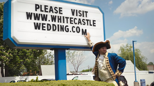 White Castle Royal Wedding Announcement