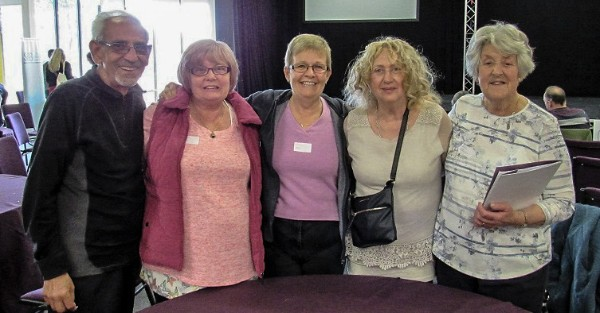 Carers in a group