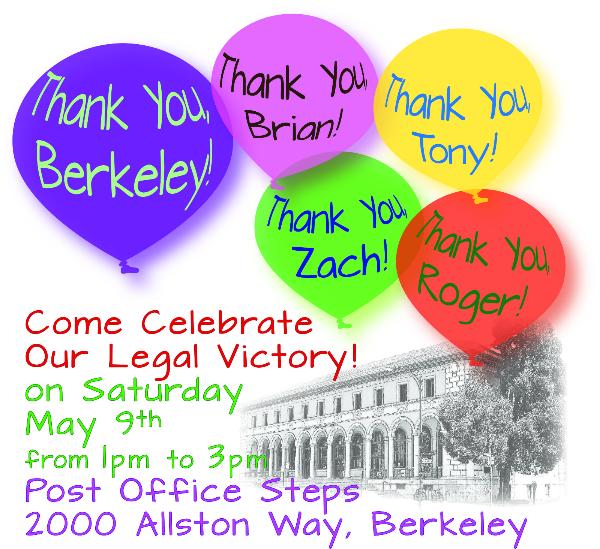 Save the Berkeley Post Office Celebration!