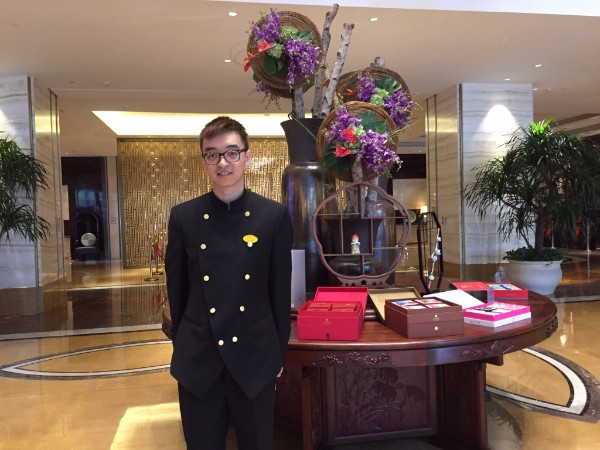 Placement student at Tonino Lamborghini hotel