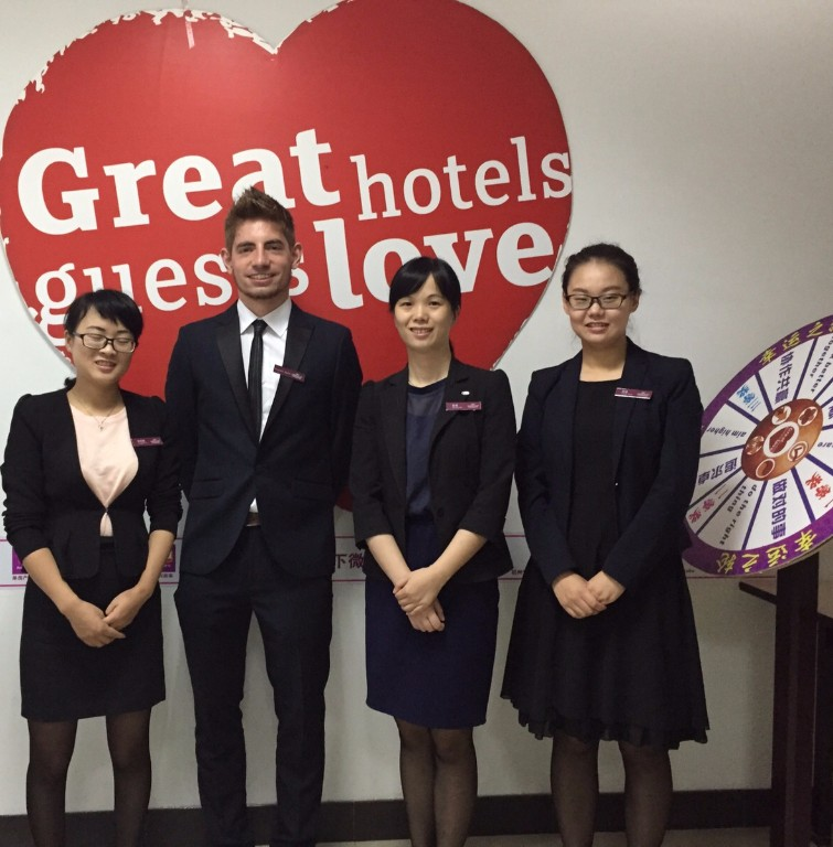 Placement student at Crowne Plaza