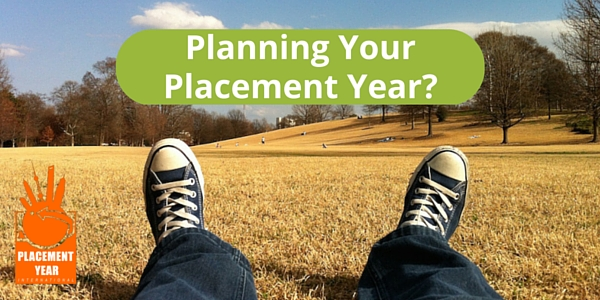 Start planning your Placement Year!