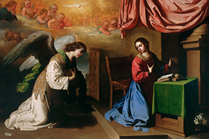 The Annunciation as Portrayed in Art