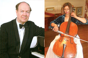 Lunchtime Concert: Clare Deniz and Alan Brown