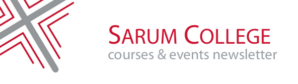 Sarum College Courses & Events Newsletter