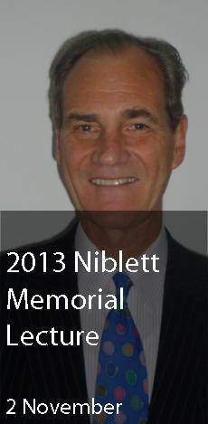 Niblett Memorial Lecture