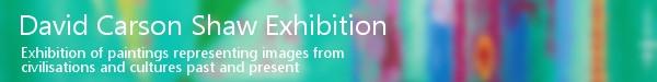 David Carson Shaw Exhibition