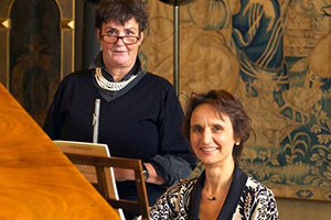 Lunchtime concert with Jane Gilbert and Elizabeth Mucha