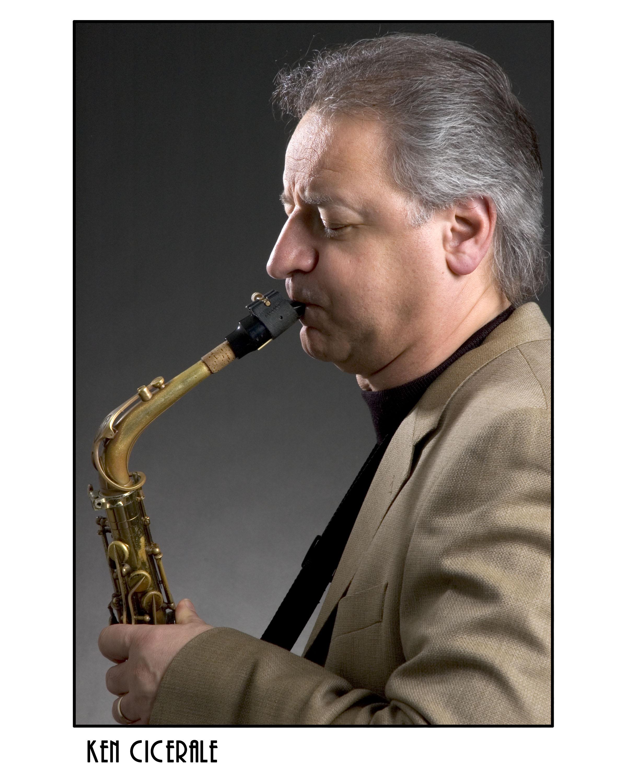 Ken Cicerale Alto Sax and Stratford Arts Guild Member