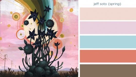 Art Inspired Palette: Jeff Soto