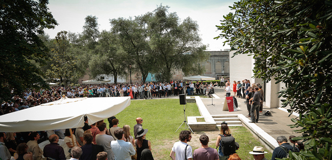 Opening Österreichischer Pavillon, Biennale di Venezia 2014, (c) Andreas Balon