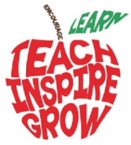 teach inspire apple image