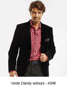 Veste Dandy velours - 499€