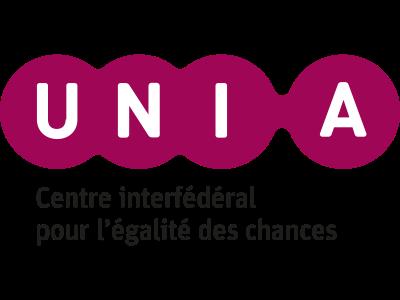 Logo UNIA (Centre interfédéral pour l'égalité des chances)