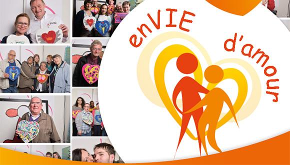 Affiche du Salon enVIE d'amour