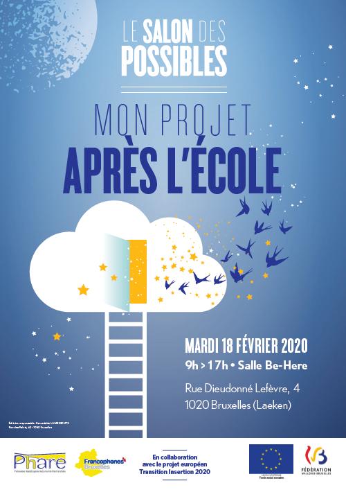 Affiche du Salon des Possibles du 18 février 2020.