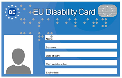 image de la carte EU Disability Card