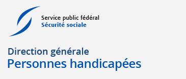 logo de la Direction Générale Personnes Handicapées