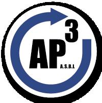 Logo de l'ASBL AP³