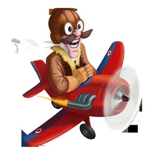 Image de l'aviateur du Brussels Games Festival 2019