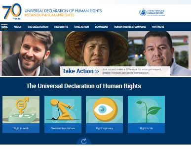 70 years - Universal Declaration of Human Rights