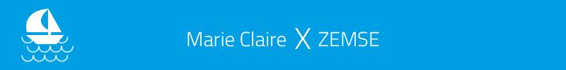 Marie Claire X ZEMSE