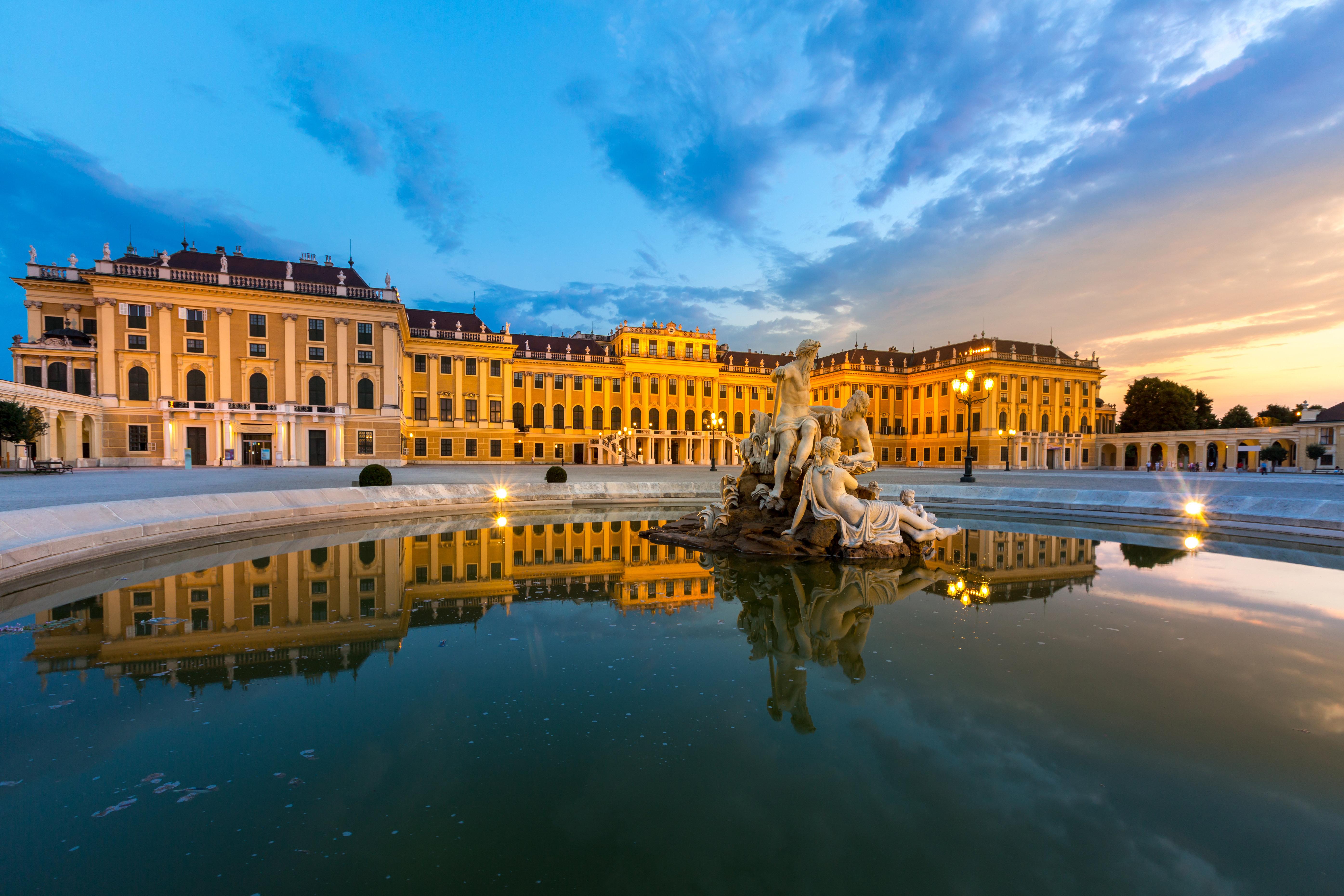 [Image: Belvedere, Vienna]