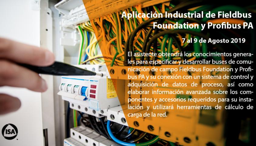 Aplicación Industrial de Fieldbus Foundation y Profibus PA