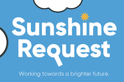 Logo: Sunshine Request: Working towards a brighter future
