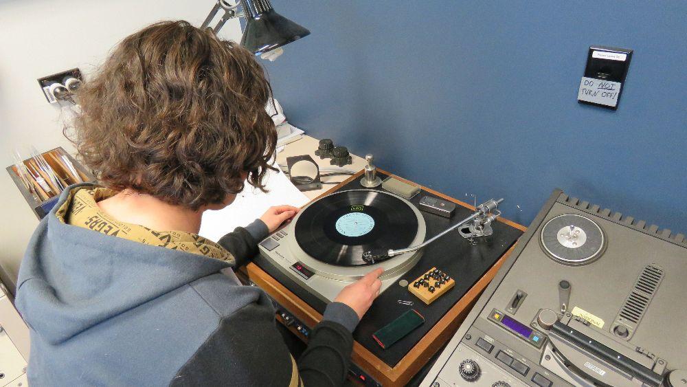 Senior Sound Archivist Sandy Ditchburn