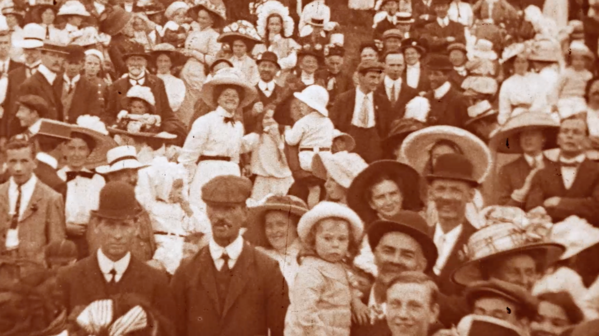 Still from 'Scenes At The East End Annual Picnic, New Plymouth'
