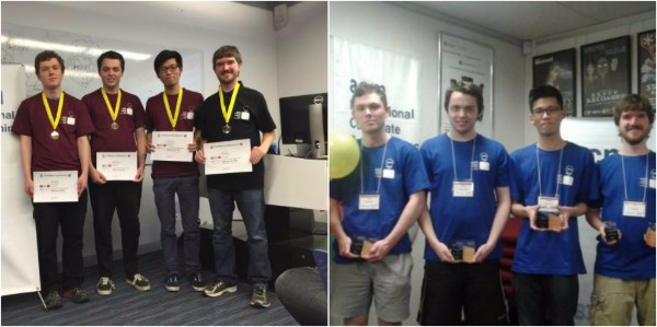 Winners of the International Collegiate Programming Contest 2016