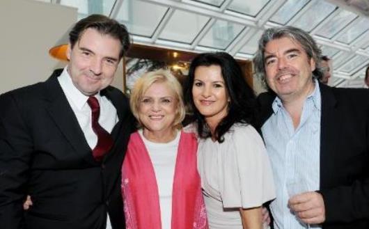 Brendan Coyle, Christina Noble, Deirdre O'Kane and Stephen Bradley