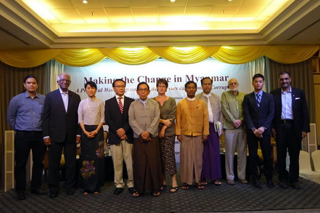 Companies Discuss Corruption in Myanmar and How to Combat it