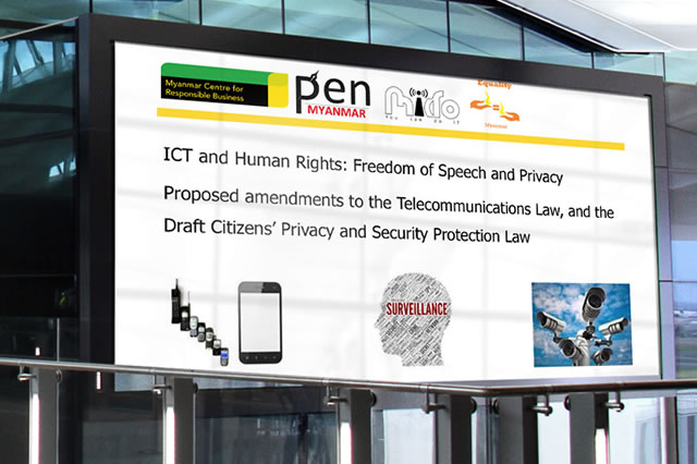 This presentation sets out specific reforms needed to address weaknesses in the protection of the right to freedom of expression and privacy in existing and proposed laws.