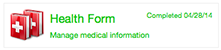 Health Form Icon