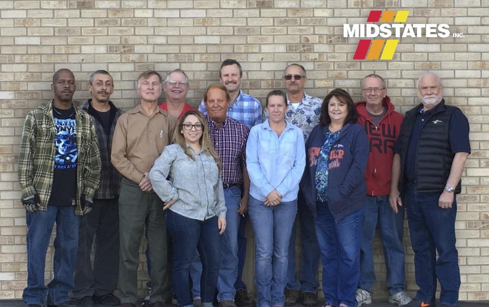 Midstates Inc Employees