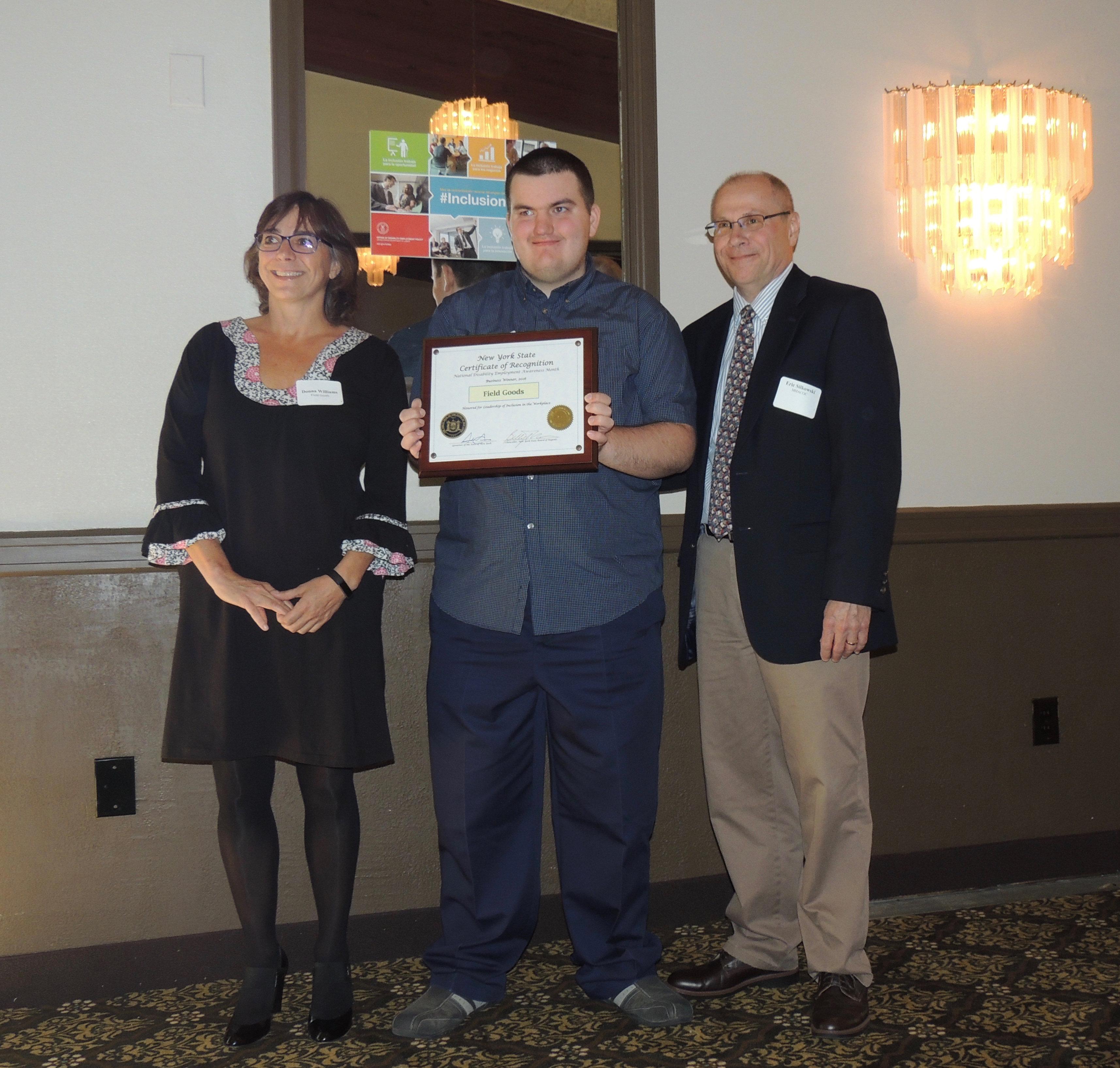 disability employer award