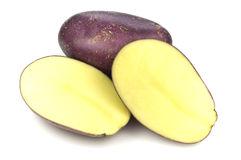 purple yellow potato