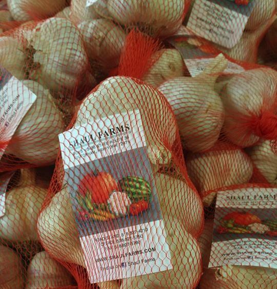 Shaul Farm garlic