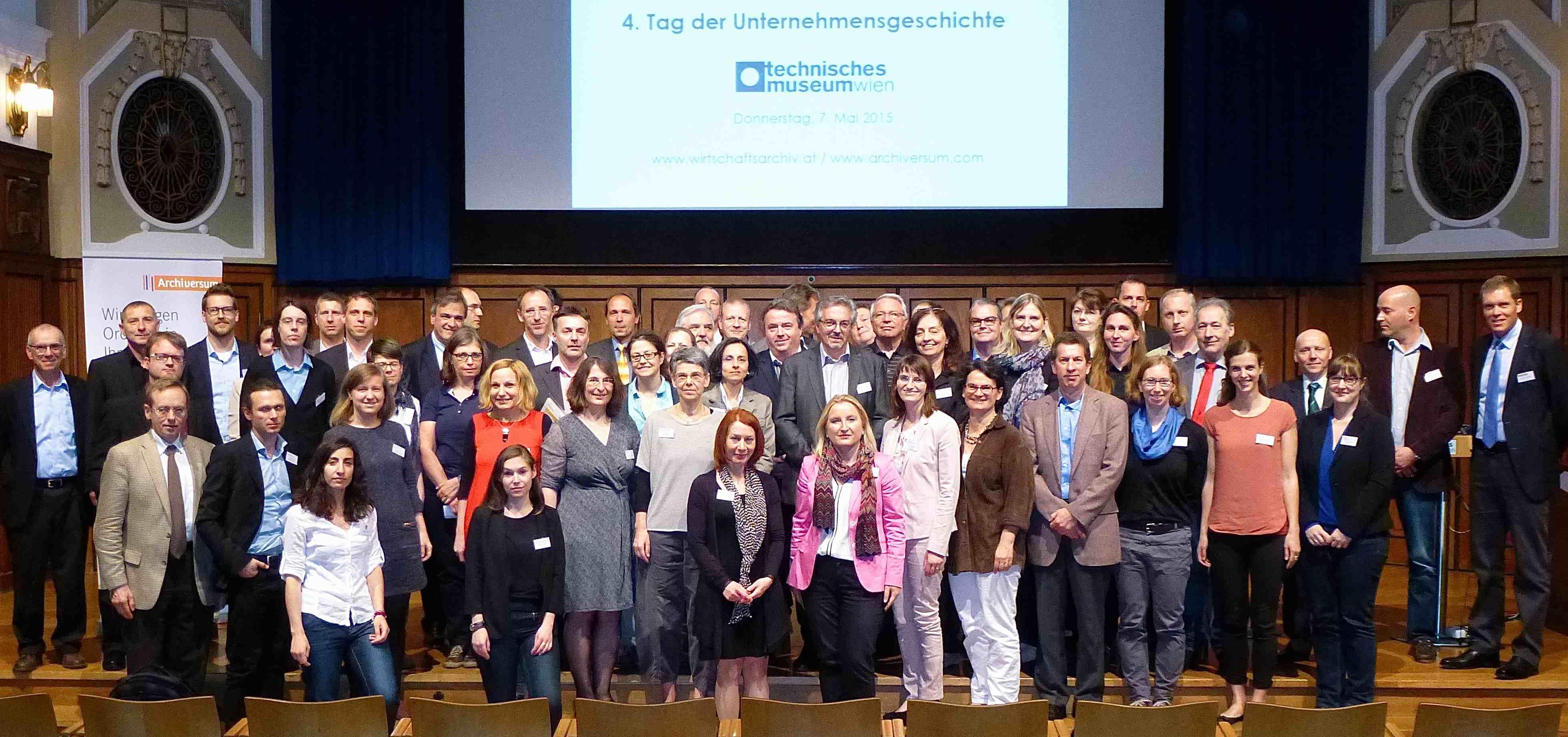 Teilnehmer 4. Tag der Unternehmensgeschichte