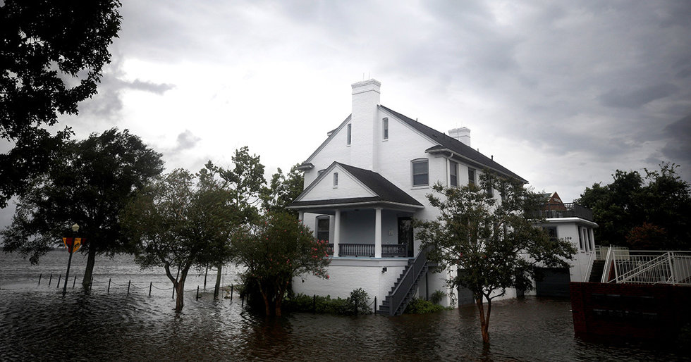 Hurricane Florence: Carolinas to See 50% More Rain Due to Climate Change