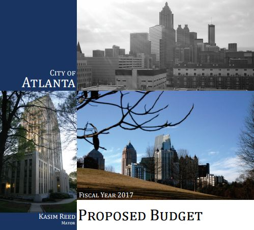 Fiscal Year 2017 City of Atlanta Proposed Budget