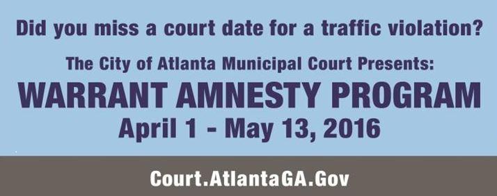 Warrant Amnesty Program